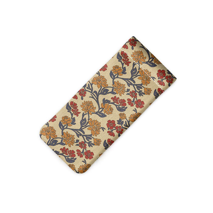 Patterned Glasses Pouch