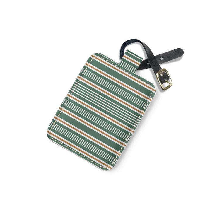 Patterned Luggage strap