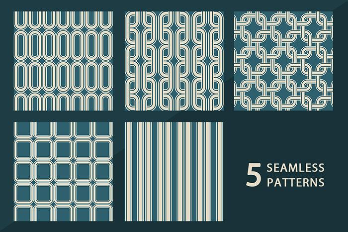 Vintage Line Patterns